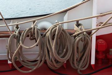 Tauwerk Segelschiff
