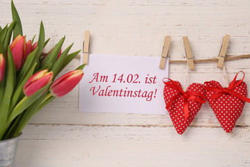 Datum Valentinstag