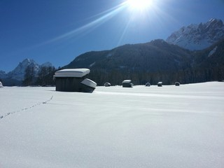 Rifugio nella neve