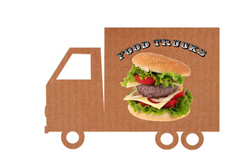 Food trucks en carton