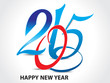 happy new year text 2015 background