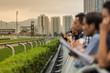 Public show a Horse Race track - 73371070