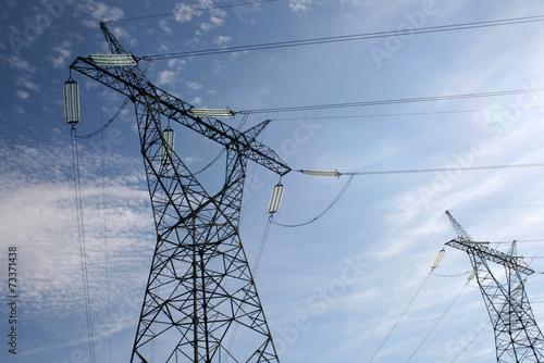słup energetyczny - energia - 73371438