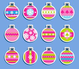 Christmas tags.
