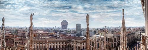 Keuken foto achterwand Milan Milano