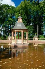"Bosquet ""Menazheriyny pond"", Saint Petersburg"