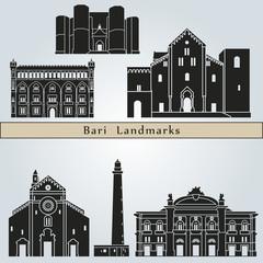 Bari landmarks and monuments