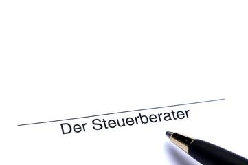 Unterschrift der Steuerberater