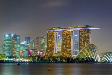 Singapore Night City