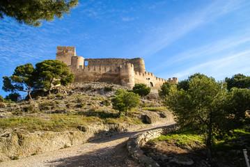 Castle at Biar, Valencia y Murcia, Spain