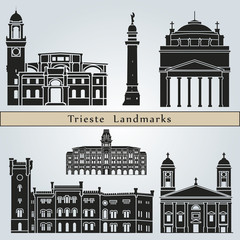 Trieste landmarks and monuments