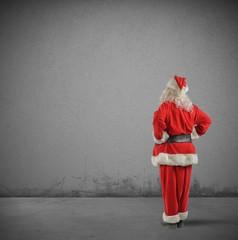 Santa claus back