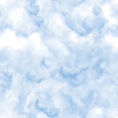 Seamless sky clouds texture, abstract air background