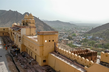 Amer fort in Rajasthan, India