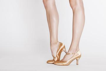 Beautiful dancer legs