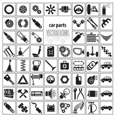 Car parts, tools and accessories