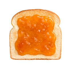 Apricot Preserves on Toast