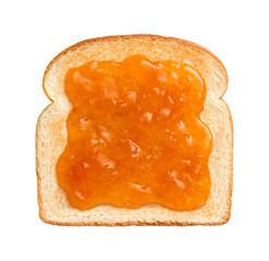 Apricot Preserves on Toast