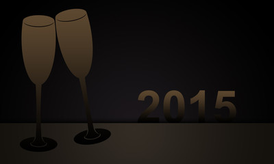 Sektgläser für 2015