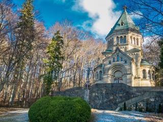 Votivkapelle am Ufer vom Starnberger See
