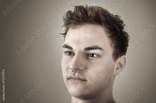 canvas print picture Portrait of a young man