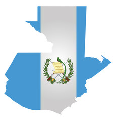 Flag of the Republic of Guatemala