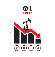 Oil down graphic - vector concept illustration