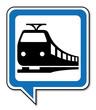 Logo tramway. Tram. - 73381421