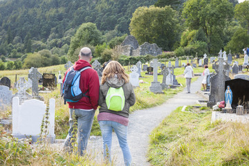 Couple in The Cemetery