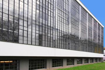 Moderne Glasfassade