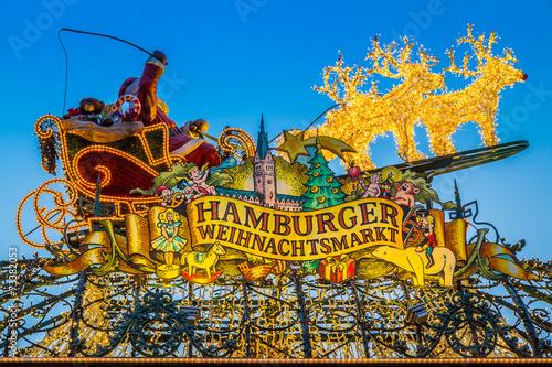 Hamburger Weihnachtsmarkt - 73382053