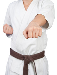 Punch in karate
