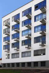 Moderne Bauhausfassade