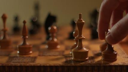 Chess Kingside Castling