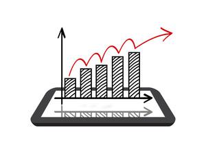 Chart on Digital Tablet