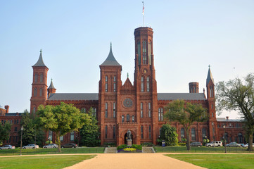 Smithsonian Castle in Washington, District of Columbia
