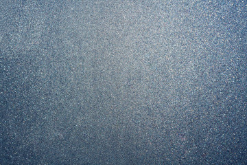 Abstract blue silver dust or sand background