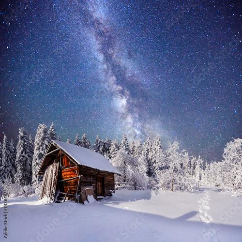 fantastic winter landscape - 73384825