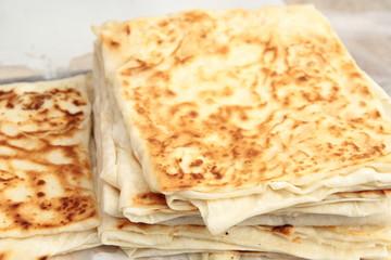 Turkish pancake. Gozleme