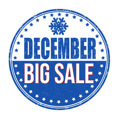 December big sale stamp