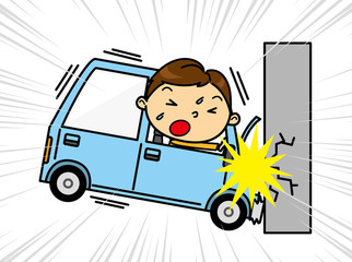 SD男性 交通事故