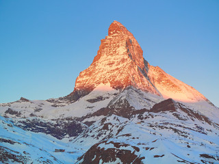 Matterhorn early morning
