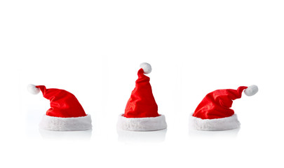 Collection of 3 santa hats