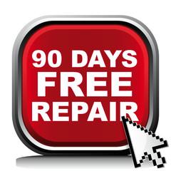90 DAYS FREE REPAIR ICON