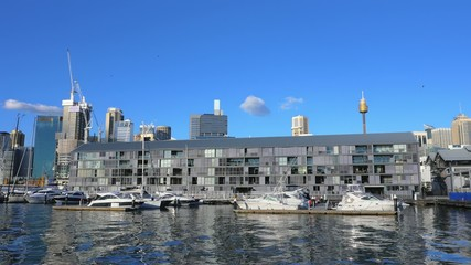 Darling Harbor and Sydney city, Pyrmont