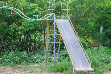 old high slider in playground