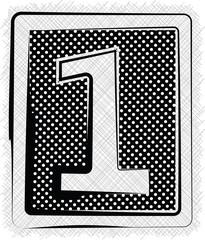 Polka Dot Font NUMBER 1