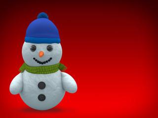 3D - Snowman - Shot 4