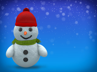 3D - Snowman - Shot 5