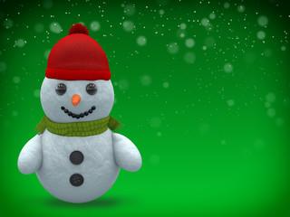 3D - Snowman - Shot 6